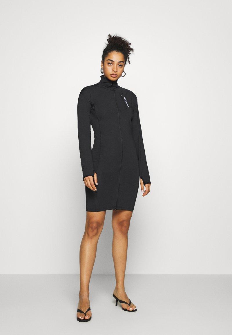 H2O Fagerholt - DRESS ME DRESS - Žerzejové šaty - black