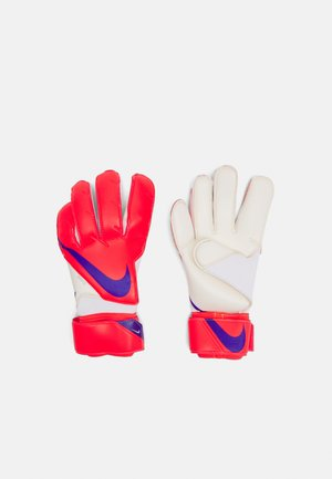 UNISEX - Goalkeeping gloves - bright crimson/indigo burst