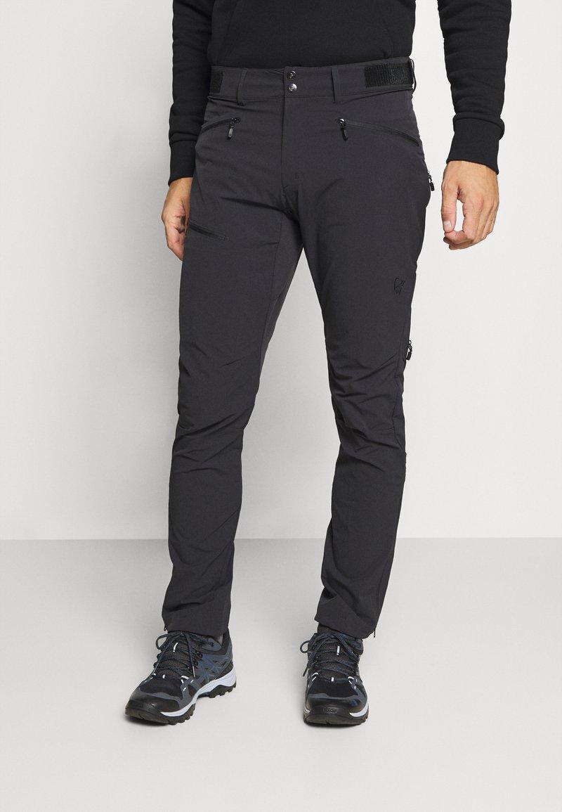 Norrøna - FALKETIND FLEX PANTS - Trousers - black