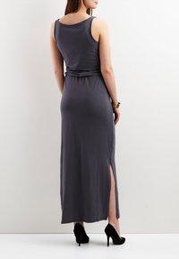 Object - OBJSTEPHANIE MAXI DRESS  - Maxi dress - asphalt - 1