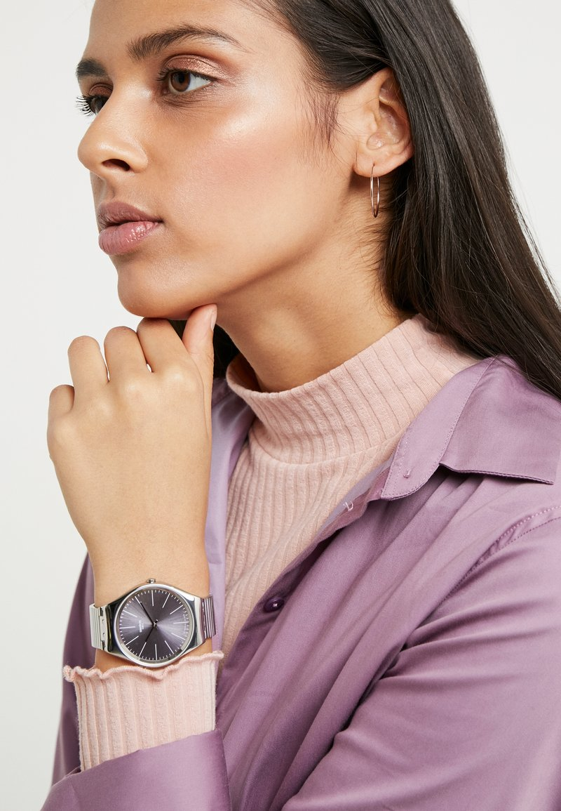 Swatch - Watch - silver-coloured