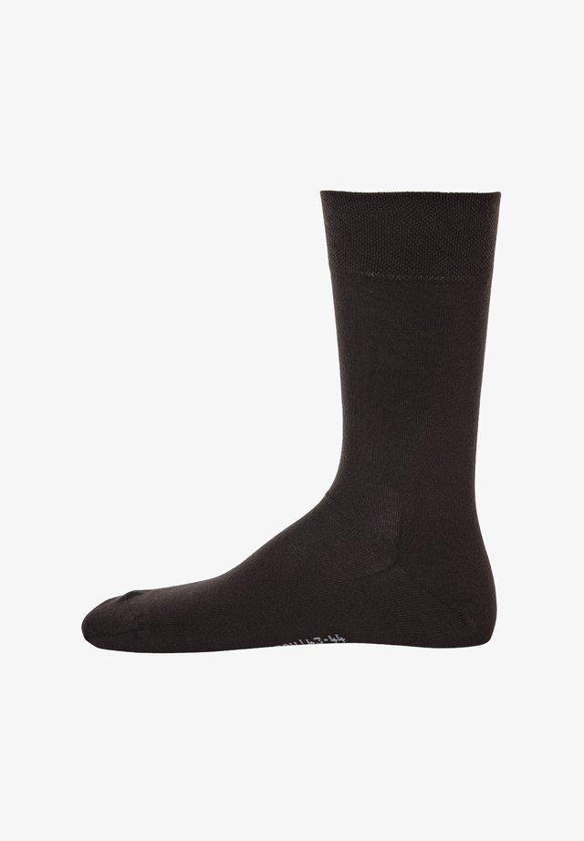 1 PAAR  - Socks - schwarz braun