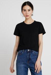 Weekday - KATE - Print T-shirt - black - 0