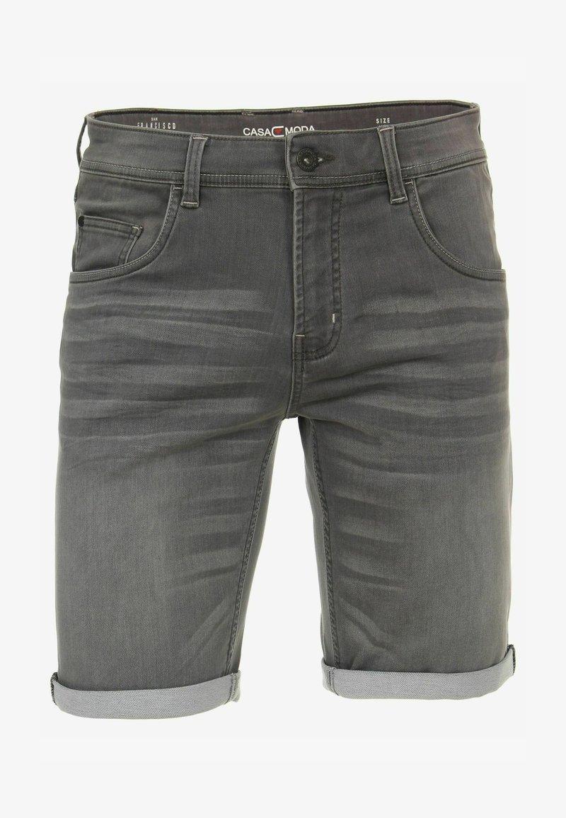 CASAMODA - Denim shorts - grau