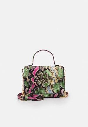 OLARESSI - Handbag - fushia/green combo mix
