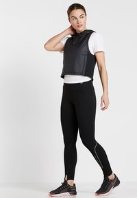 Nike Performance - Tights - black/gunsmoke - 1