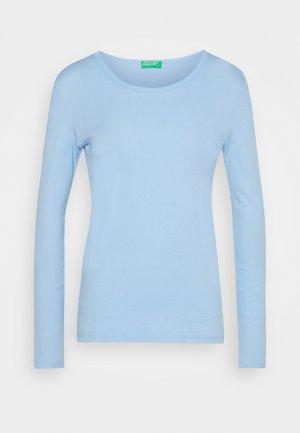 Topper langermet - light blue