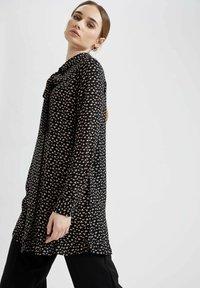DeFacto - Button-down blouse - black - 3