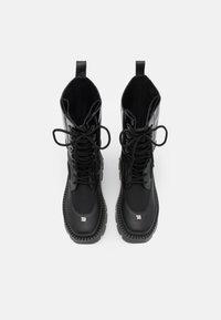 MISBHV - LACE UP COMBAT BOOT - Lace-up boots - black - 3