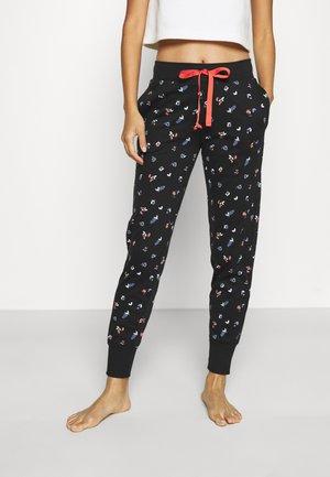 MIX & MATCH TROUSERS - Pyjama bottoms - black