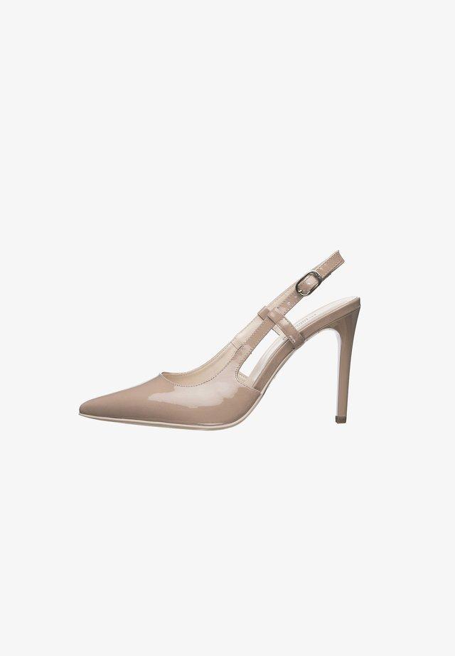 E011040DE - Classic heels - pink
