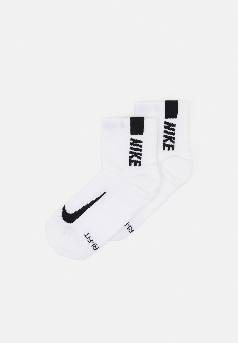 Nike Performance - ANKLE 2 PACK UNISEX - Sportsokken - white/black