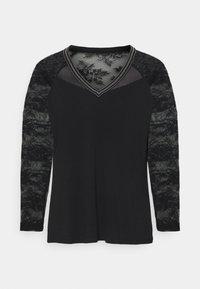 Morgan - TERRIE - Long sleeved top - noir - 4