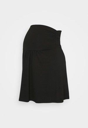 GIVONA - Spódnica trapezowa - black