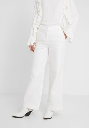 LETTA PANTS - Kalhoty - cream