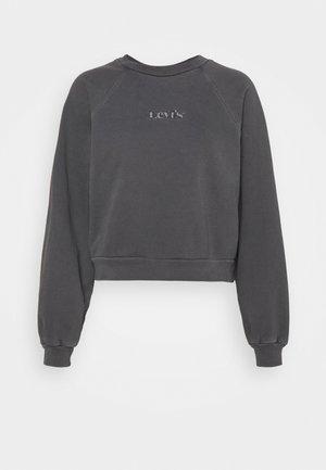 VINTAGE CREW - Bluza - mottled dark grey