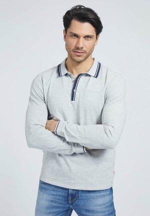 LANGE MOUW - Polo shirt - grijs