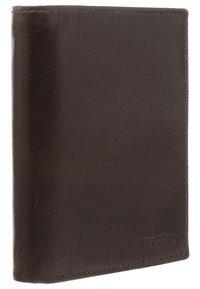 Fossil - DERRICK  - Wallet - dark brown - 2
