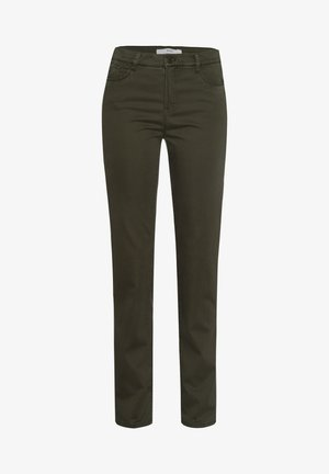 STYLE MARY - Trousers - dark olive