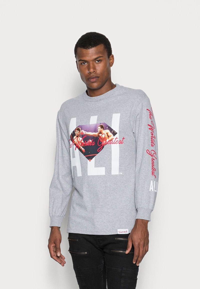 Diamond Supply Co. - ALI SIGN LONG SLEEVE TEE - Long sleeved top - grey