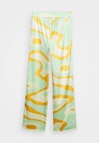 HOSBJERG - RILEY PANTS - Trousers - green - 3