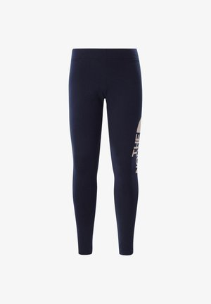 G COTTON BLEND LEGGING BIG LOGO - Legging - hellblau