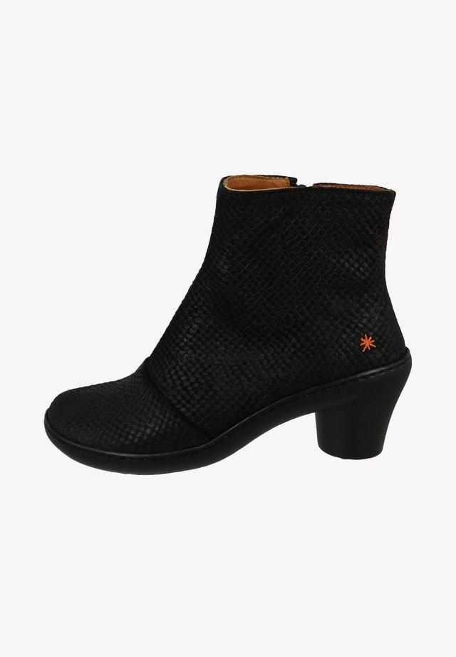 ALFAMA ELEGANT PITON-BLAC - Ankle boots - piton-black