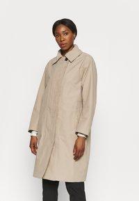 Didriksons - EMBLA COAT - Hardshell jacket - beige - 0