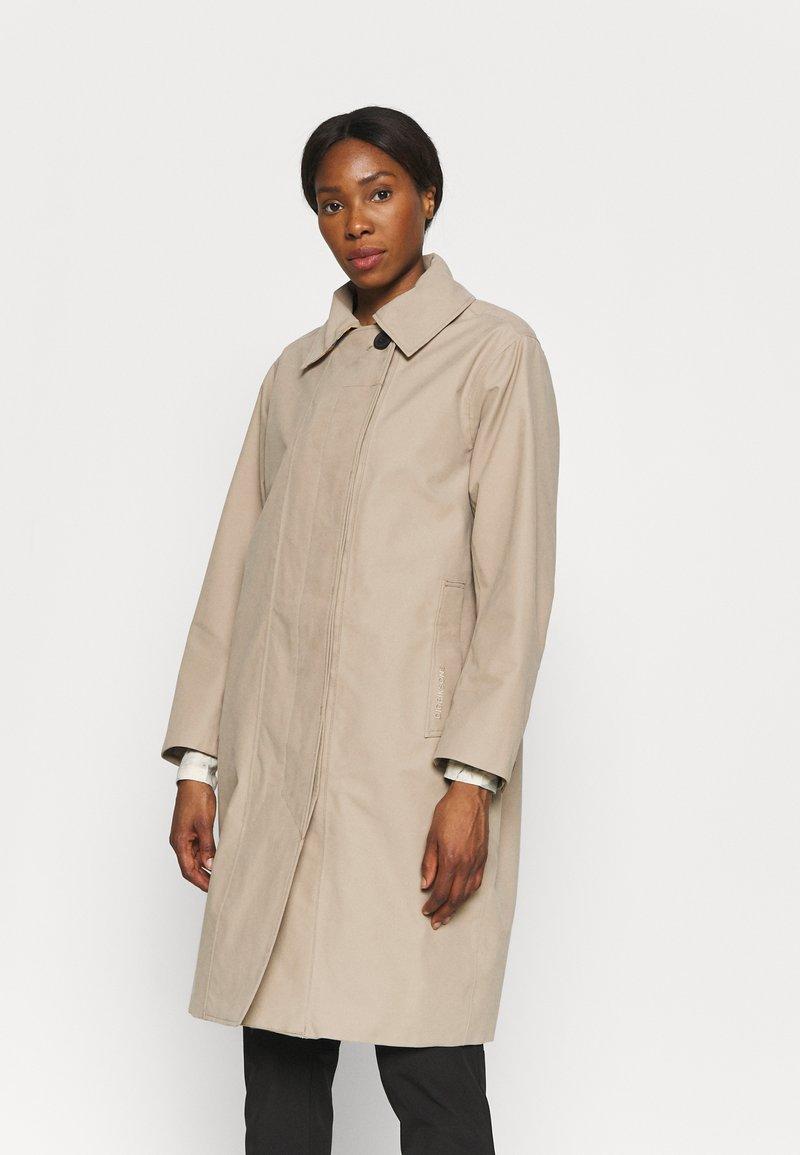 Didriksons - EMBLA COAT - Hardshell jacket - beige