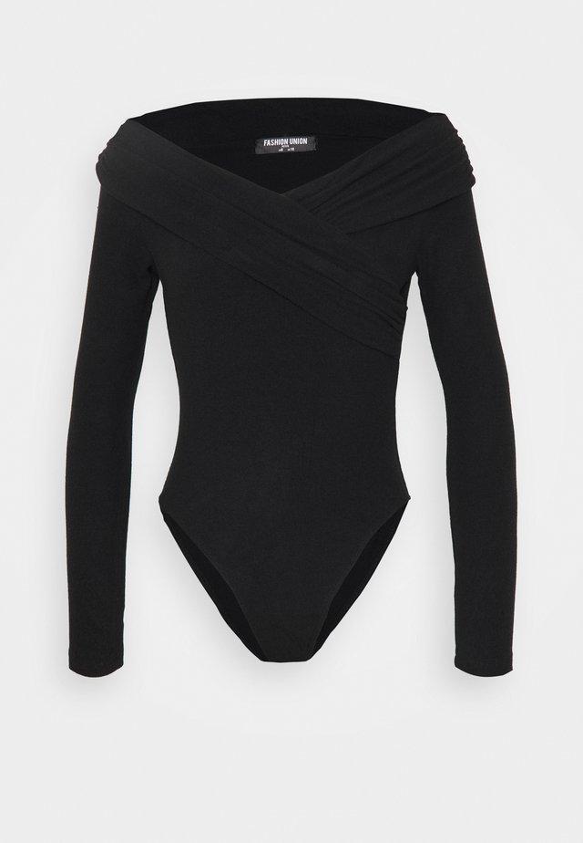 SWIFT - Langærmede T-shirts - black
