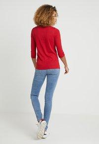 Esprit - Top sdlouhým rukávem - dark red - 2