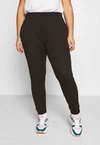 Missguided Plus - JOGGER 2 PACK - Pantaloni sportivi - black/ white - 4