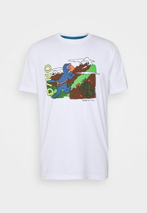 MENS DINO CLIMB - T-shirts print - white