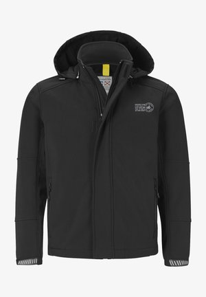 MENNE - Light jacket - schwarz