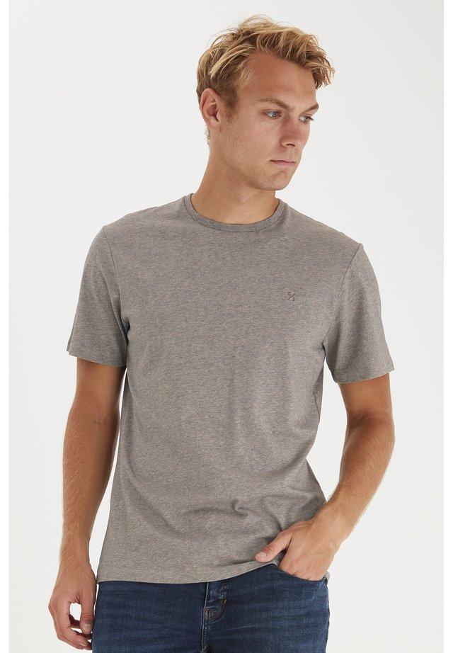 T-shirt basique - silver mink melange