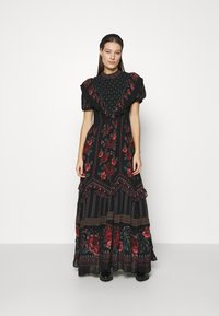 Farm Rio - EMBROIDERED FLORAL MAXI DRESS - Maxi dress - multi - 1