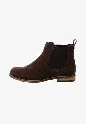 VARENNA  - Ankle boots - cognac