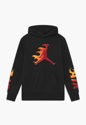JUMPMAN FIRE  - Bluza z kapturem - black