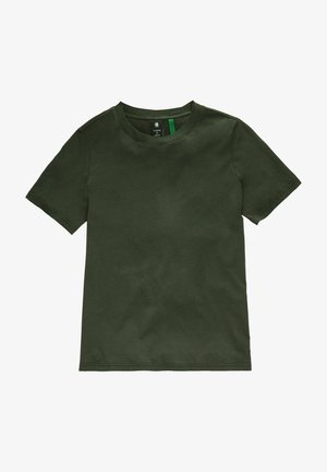 FIREFLY BACKPRINT LOOSE - Print T-shirt - raven