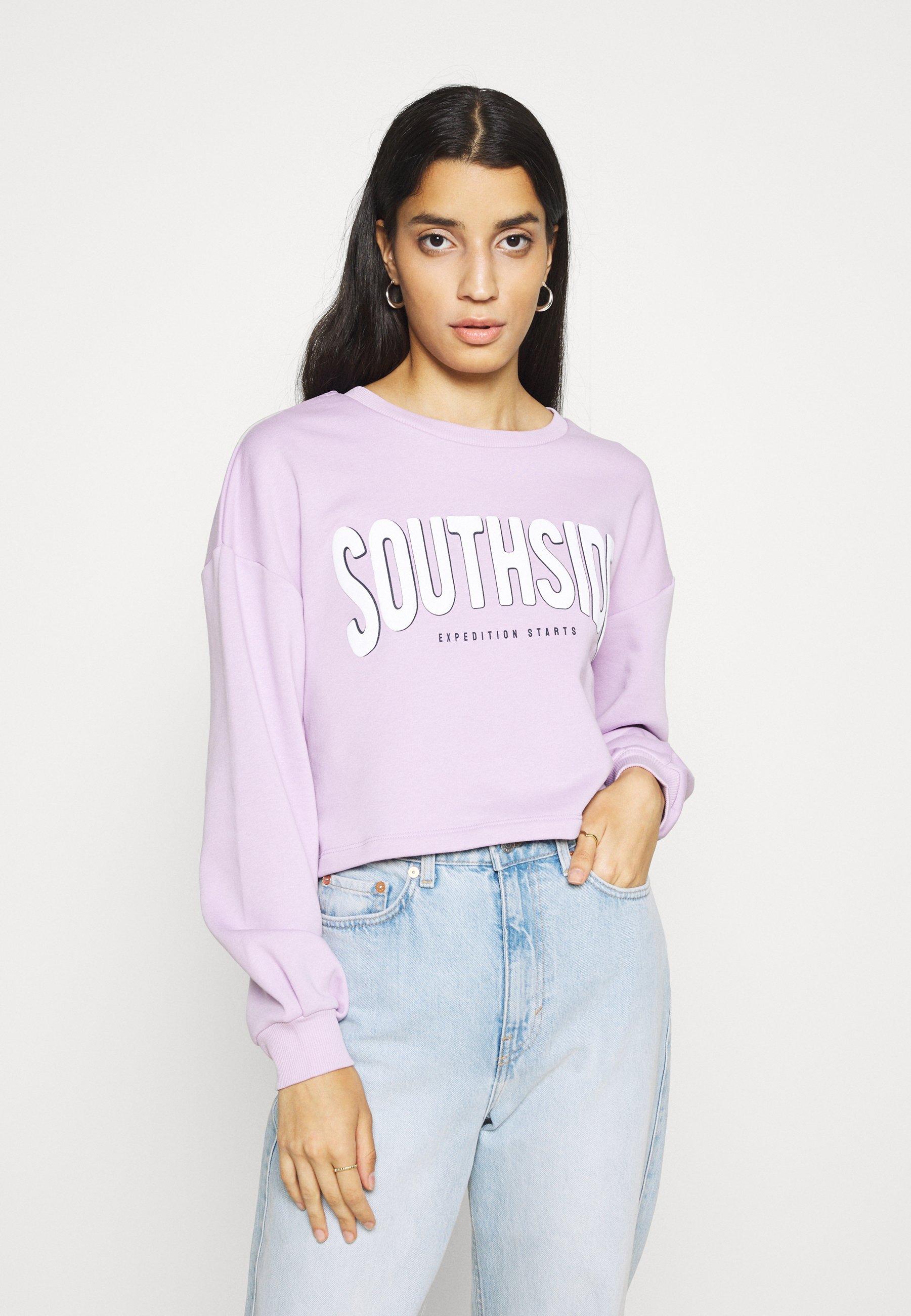 Damen PCMYLLE CROPPED - Sweatshirt
