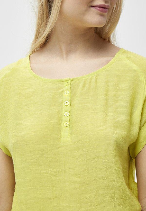 PEPPERCORN FENG - Bluzka - safety yellow/żÓłty WAIG