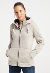 ICEBOUND - Fleece jacket - elfenbein melange - 0