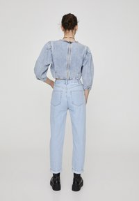 PULL&BEAR - Jeansy Straight Leg - light blue - 2