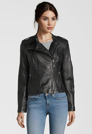 ISABELLE  - Leather jacket - black