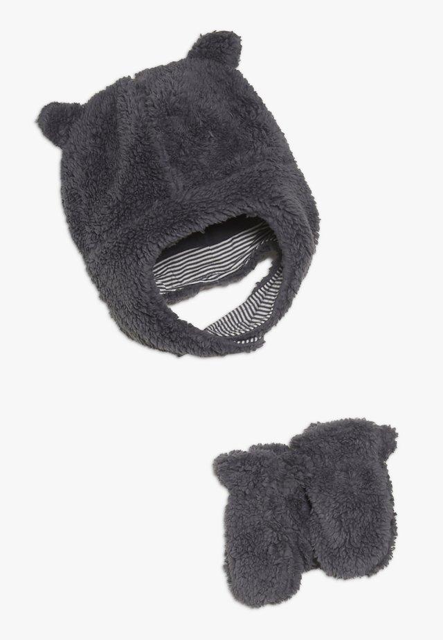 HAT BABY SET - Bonnet - navy