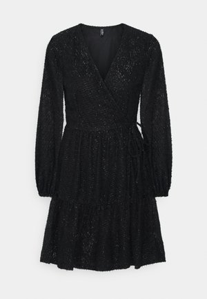 PCDWYN WRAP DRESS - Day dress - black