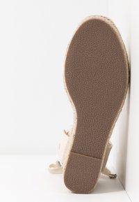Lulipa London - LORENA - Sandály na vysokém podpatku - cream - 6