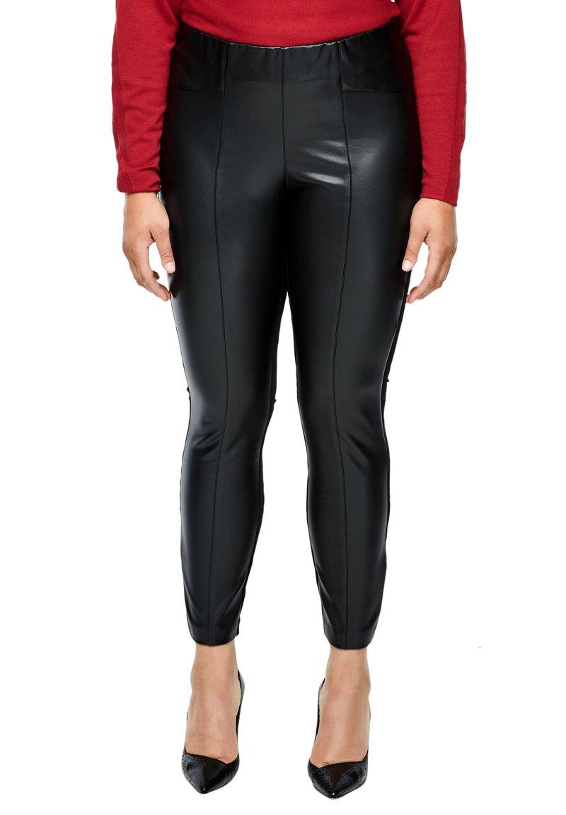 Triangle - Leggings - Trousers - black