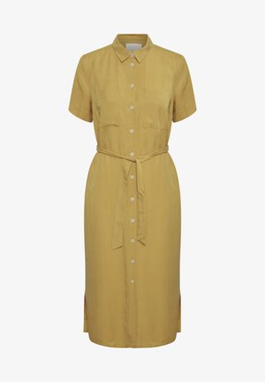 Vestido camisero - golden spice