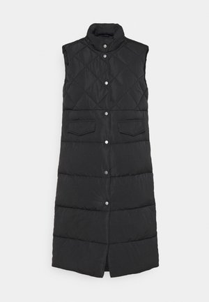 ONLSTACY QUILTED WAISTCOAT - Smanicato - black